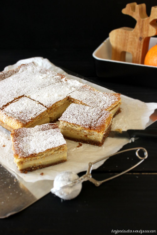 Rezept für einen Magic Cake mit Spekulatiusboden Hey Foodsister