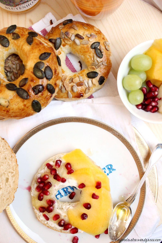 Rezept für Bagels Hey Foodsister Blog