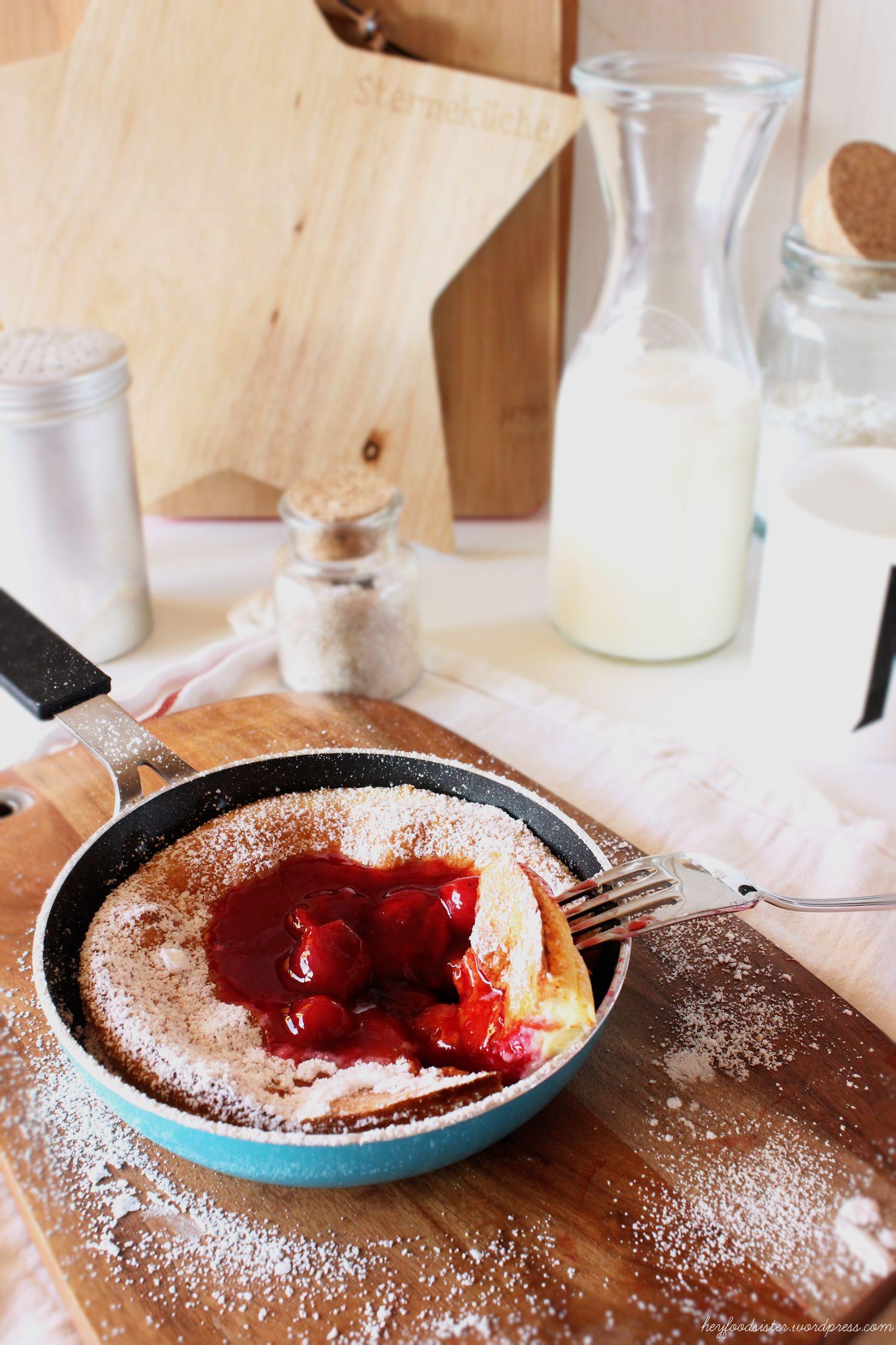 Rezept für einen Ofenpfannkuchen Hey Foodsister