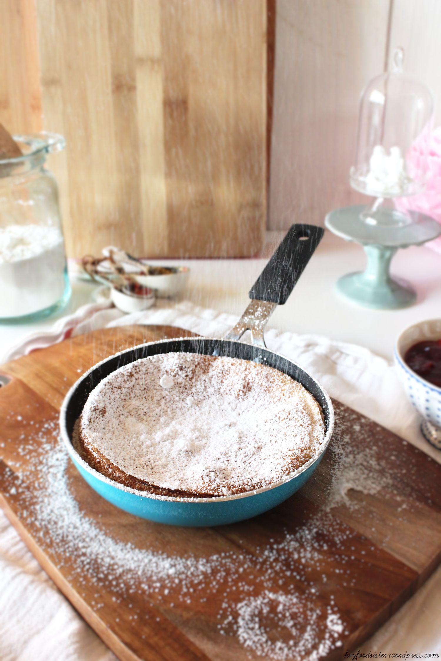 Rezept für Ofenpfannkuchen Hey Foodsister
