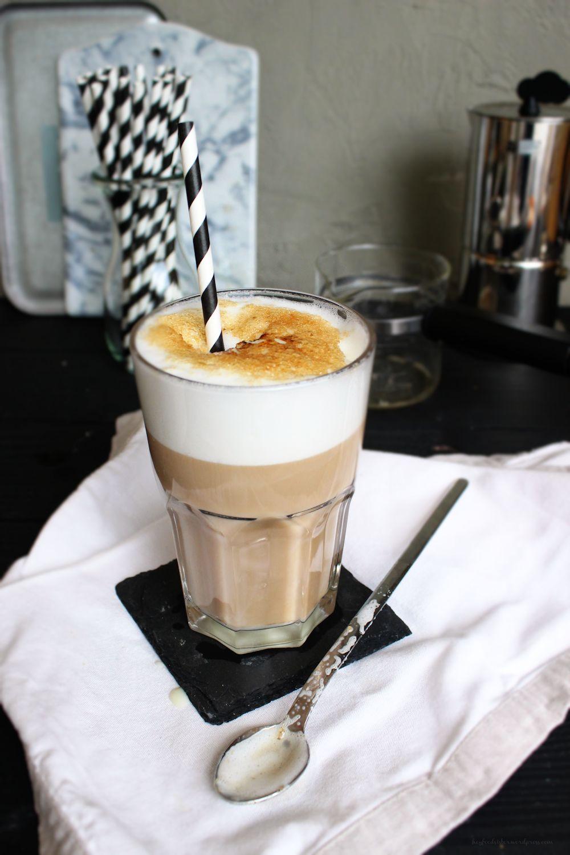 Rezept für eiskalten Kaffee Brulee