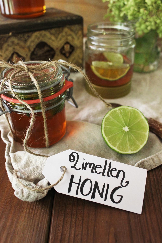 Rezept für Honig mit Limette Post aus meiner Küche