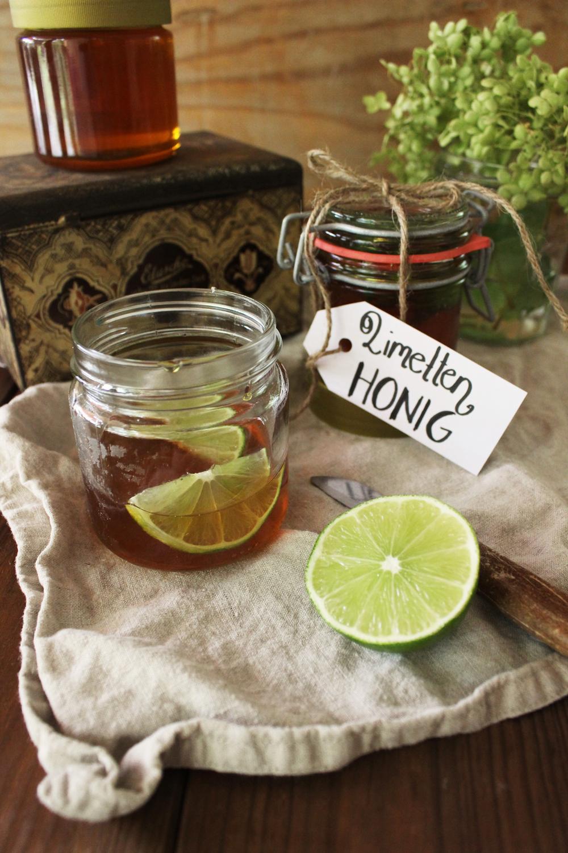 Rezept für Limettenhonig