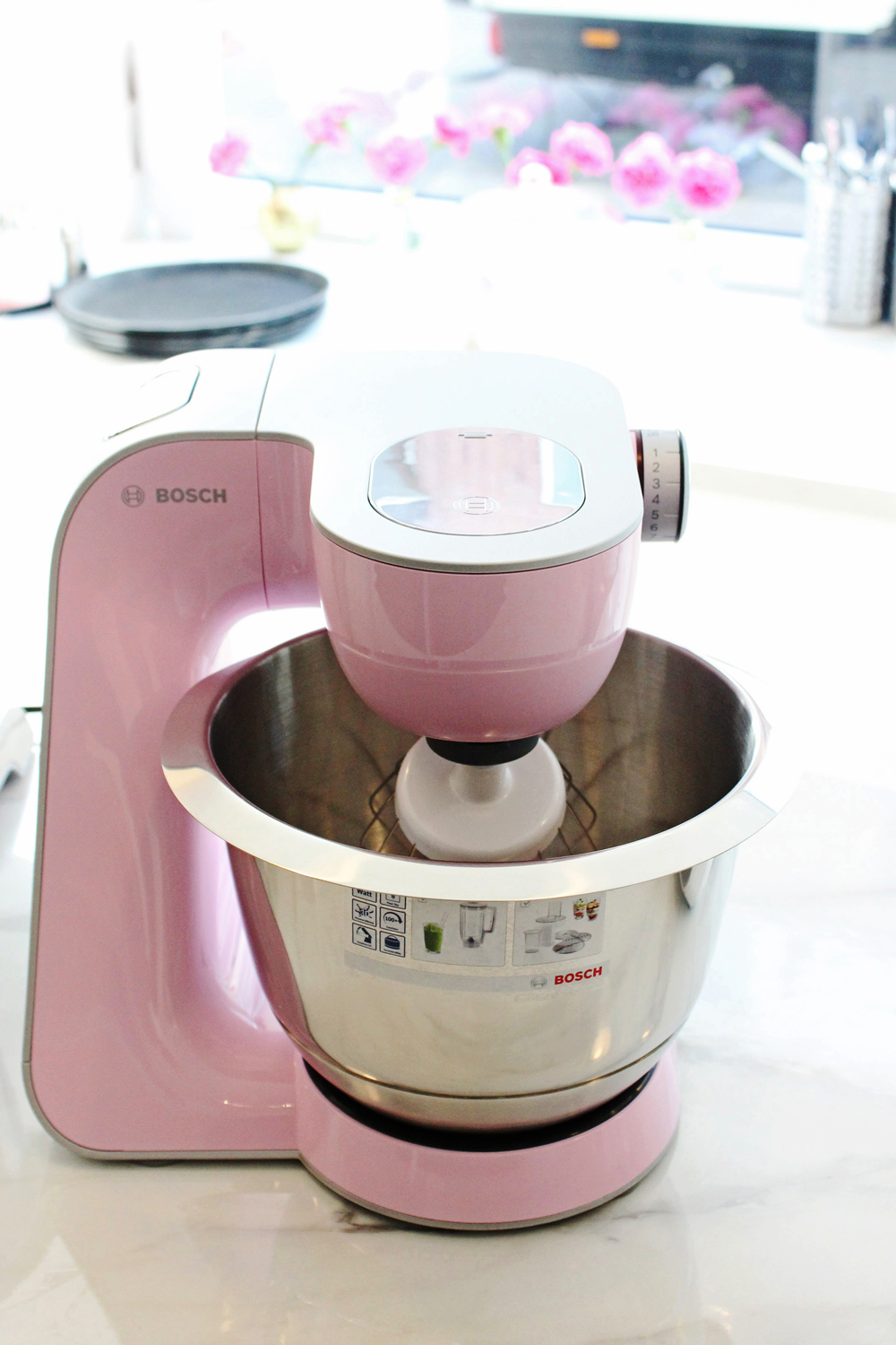 Bosch Backevent MUM 5 Küchenmaschine Gentle Pink