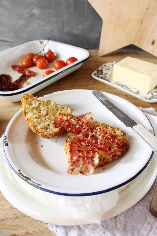 Rezept für Käse Scones mit Schnittlauch