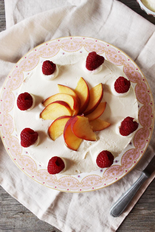 Rezept für einen Pfirsich Melba Battenberg Kuchen.jpg