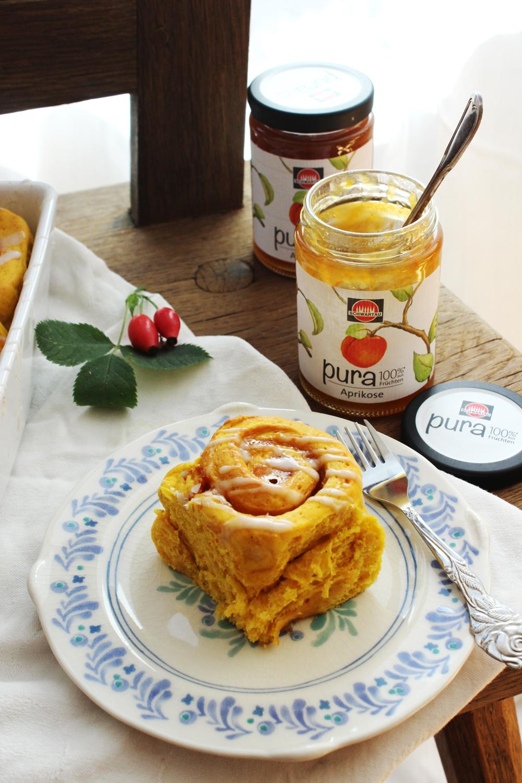 rezept-fur-kurbisschnecken-mit-aprikosenkonfiture