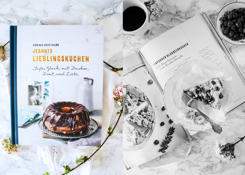 Rezept für einen einfachen Blaubeerkuchen Jeannys Lieblingskuchen Backbuch