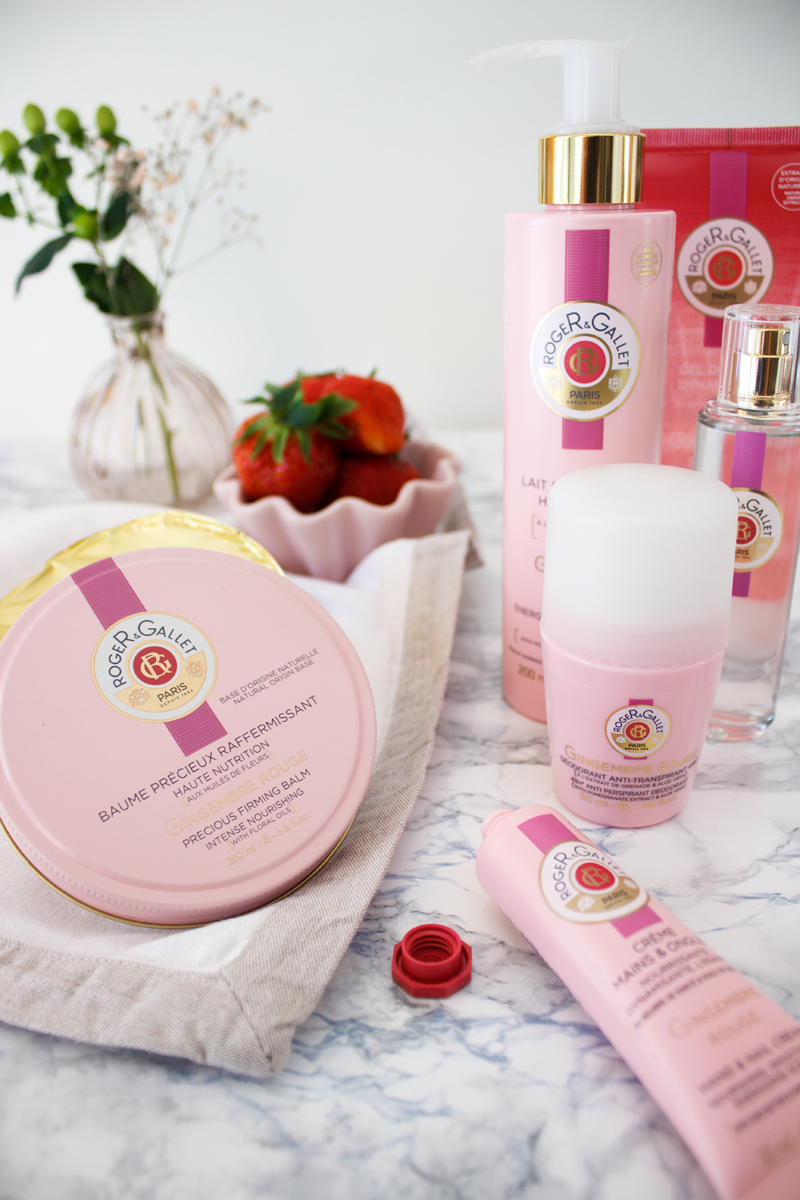 Rezept Ingwer Törtchen Roger&Gallet Kosmetik Produkte