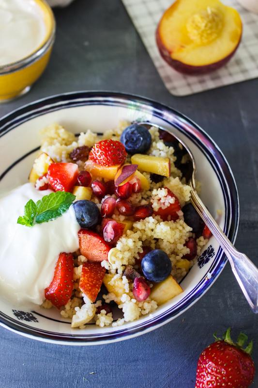 Rezept für süßen Früchte Couscous
