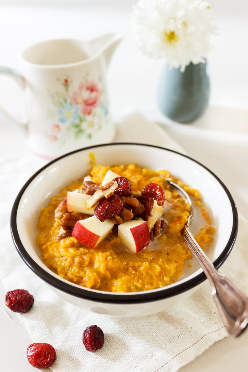 Rezept für Pumpkin Pie Porridge_