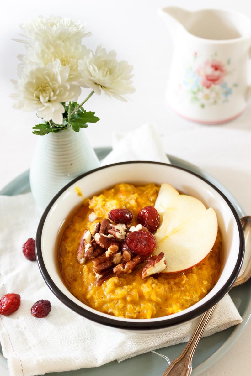 Rezept für Pumpkin Spice Porridge_