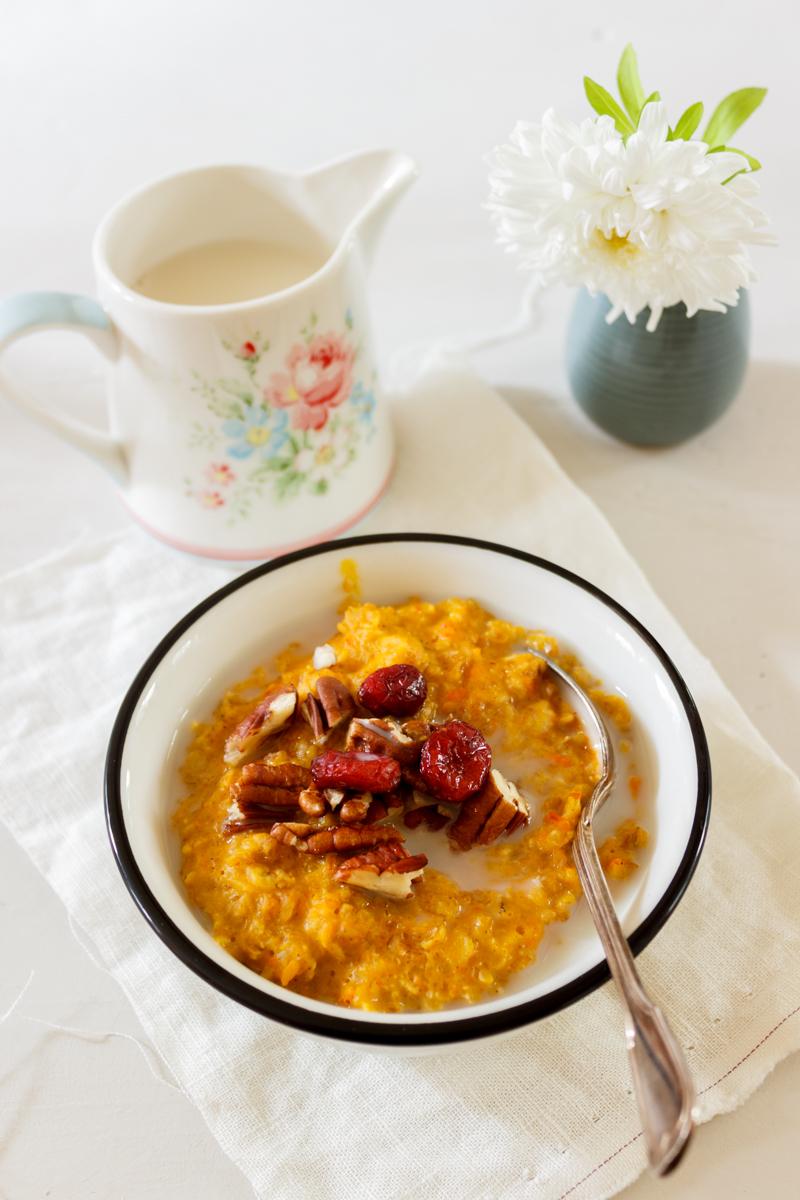 Rezept für Pumpkin Spiced Oatmeal