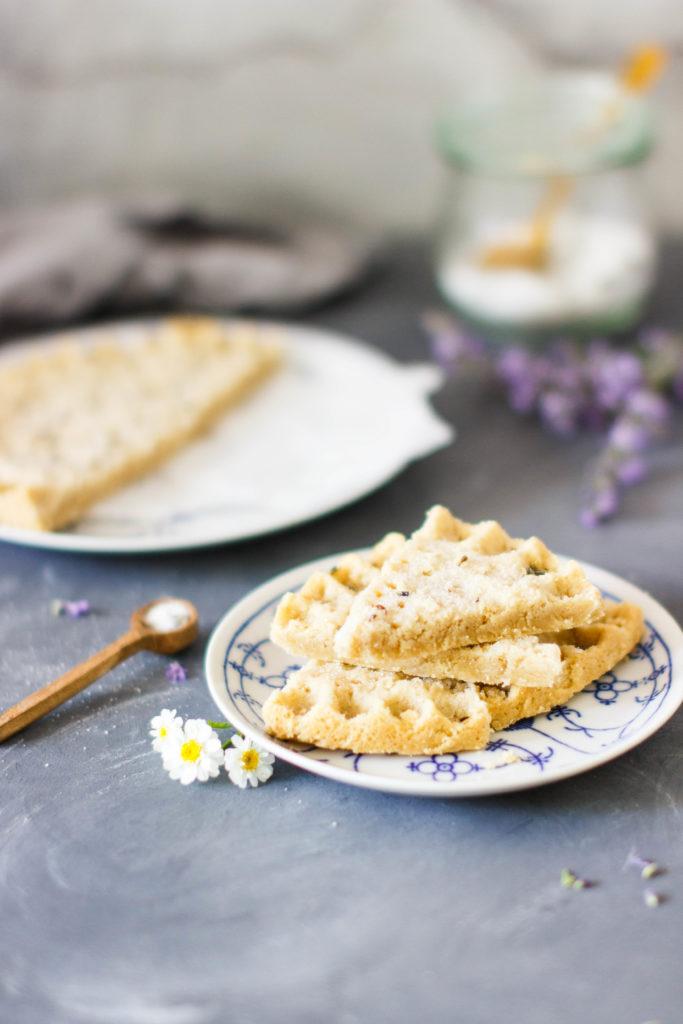 Lavendel Shortbread