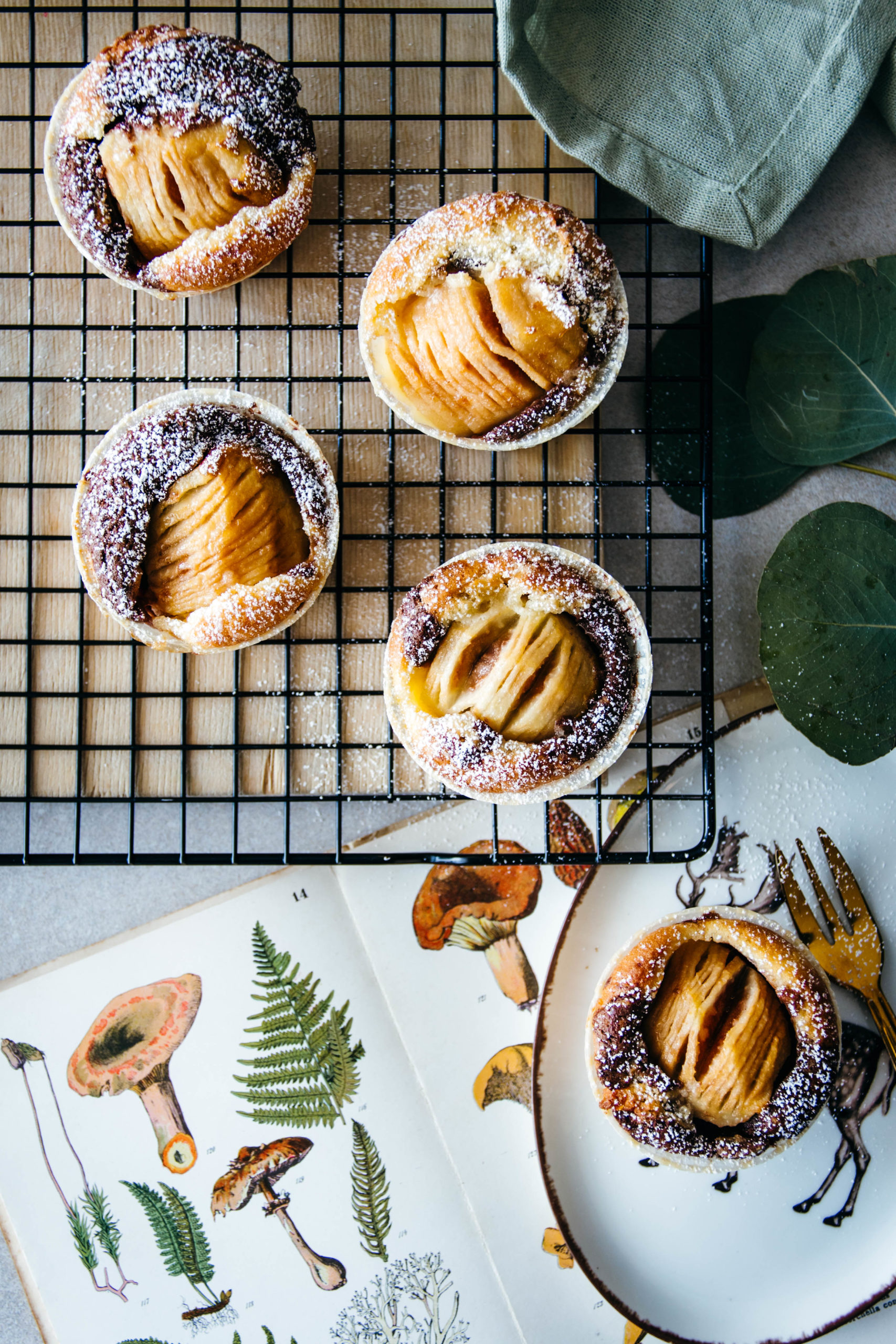 Birnen Marmor Muffins