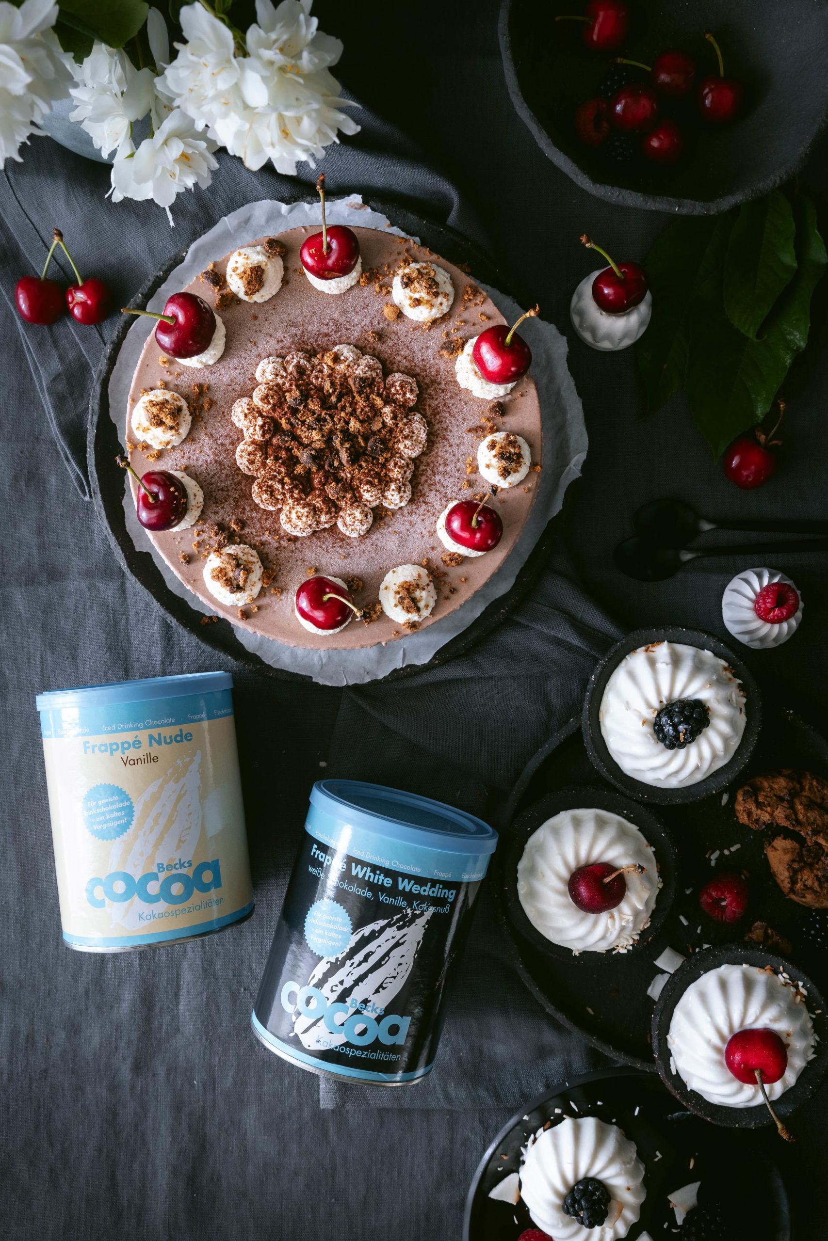 Frozen Cakes Cheesecake Eistorte Kokosgugel